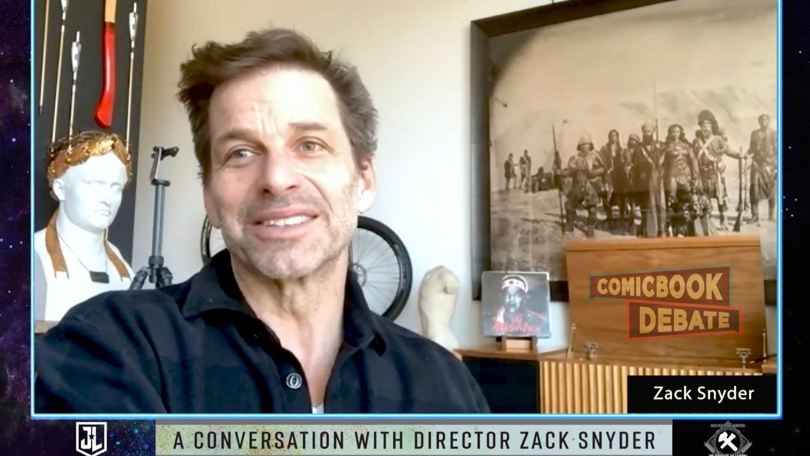 Zack Snyder; Snyderverso; Mulher-Maravilha
