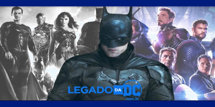 DCEU não deve copiar o MCU, mas os filmes do Batman devem legadodadc