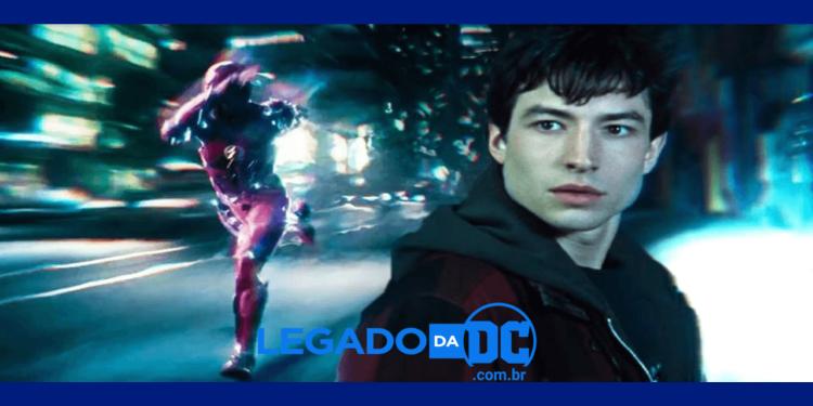 Por que Barry não é chamado de Flash na Liga da Justiça - Snyder Cut legadodadc