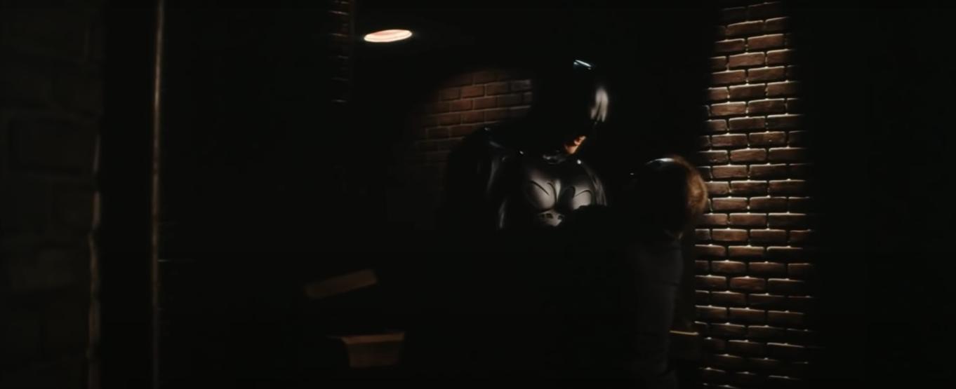 Christian Bale, Cillian Murphy eEion Bailey; Batman Begins