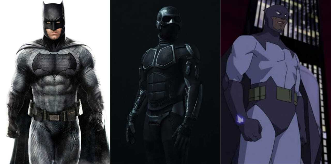 Batman, Black Noir e Asa Negra