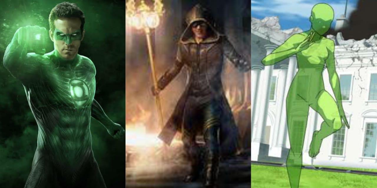 Lanterna Verde, Faroleiro, Vulto Verde