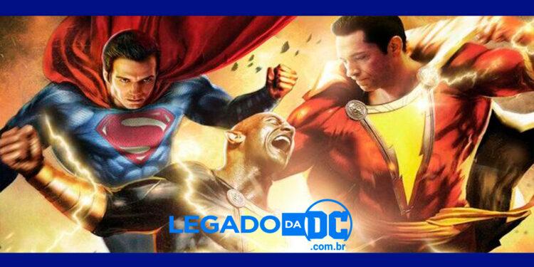 Adão Negro e Superman