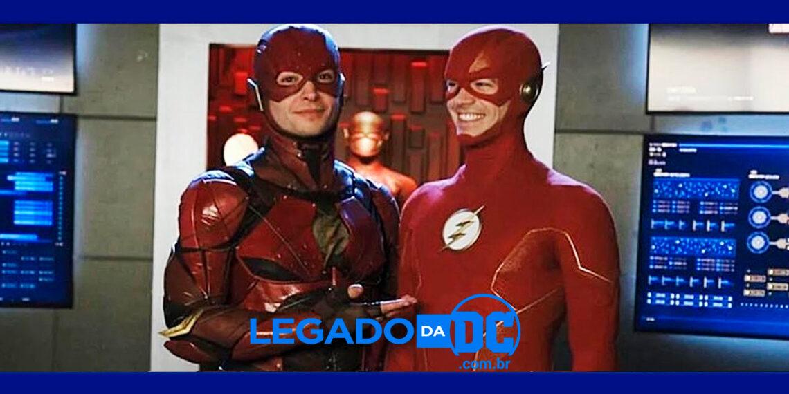 The Flash: Site confirma que Grant Gustin, o Flash da CW, estará no filme