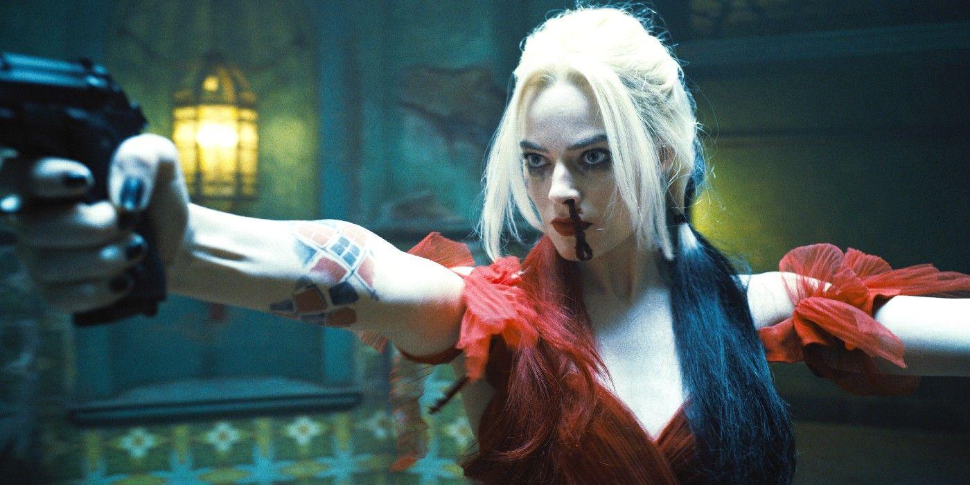 """Arlequina (Margot Robbie) em """"O Esquadrão Suicida"""""""