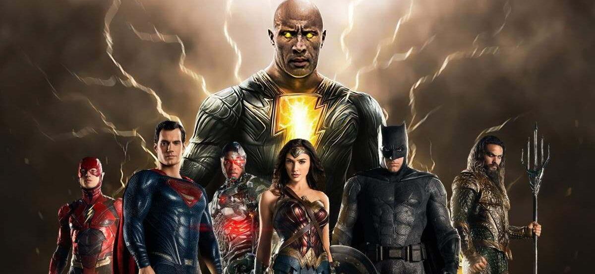 The Rock; Liga da Justiça de Zack Snyder; Adão Negro; SnyderVerse