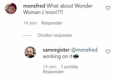 Mulher-Maravilha; Sam Register