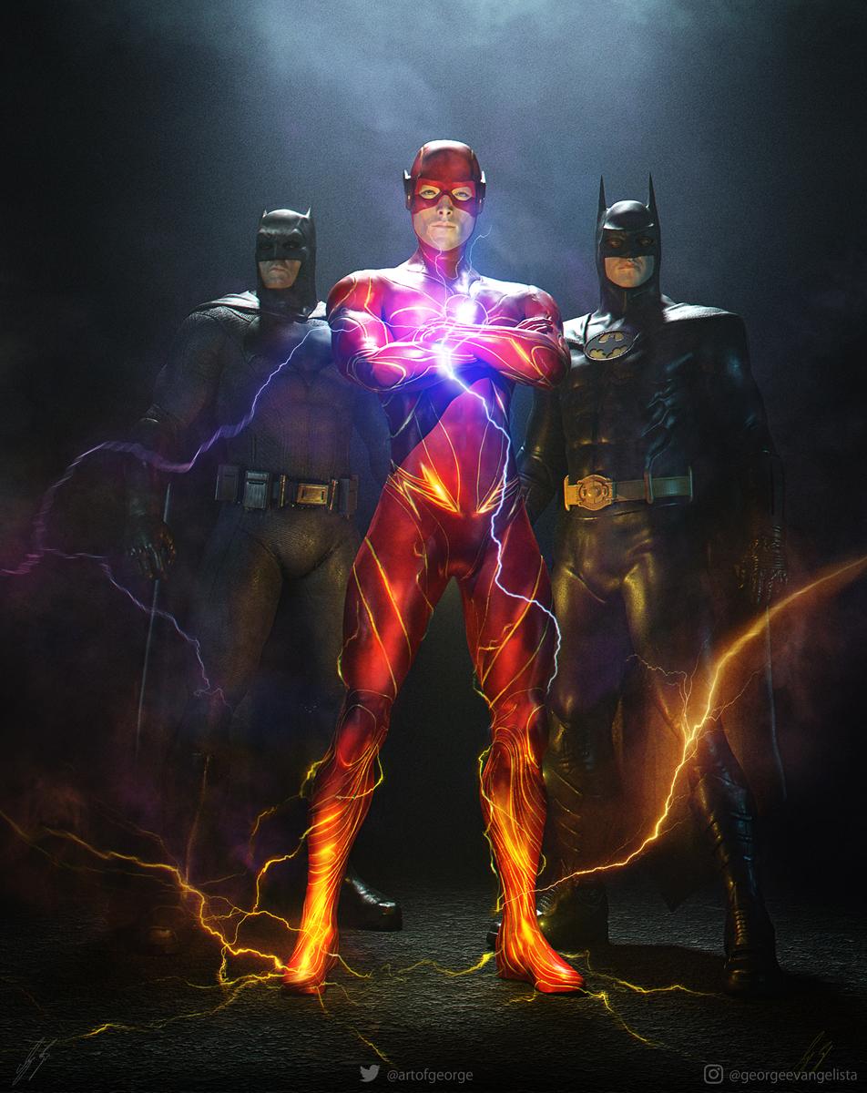Andy Muschietti; The Flash; Michael Keaton; Batman; Ben Affleck; Ezra Miller