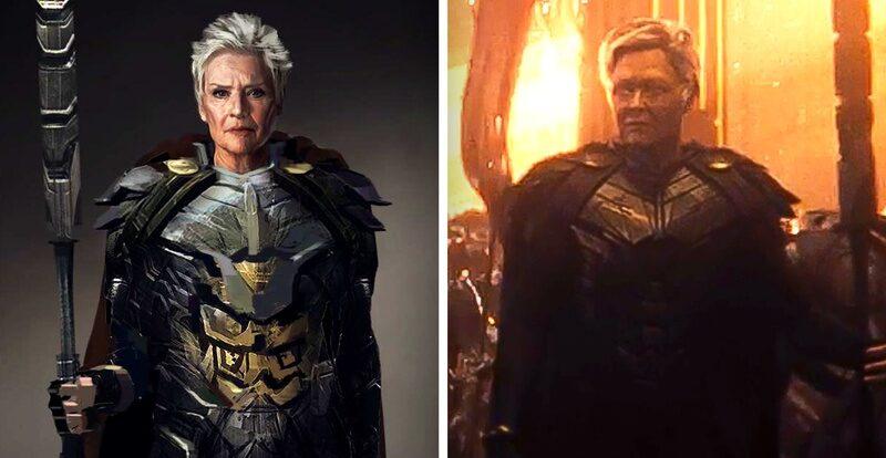 Zack Snyder Cut; Vovó Bondade; Liga da Justiça